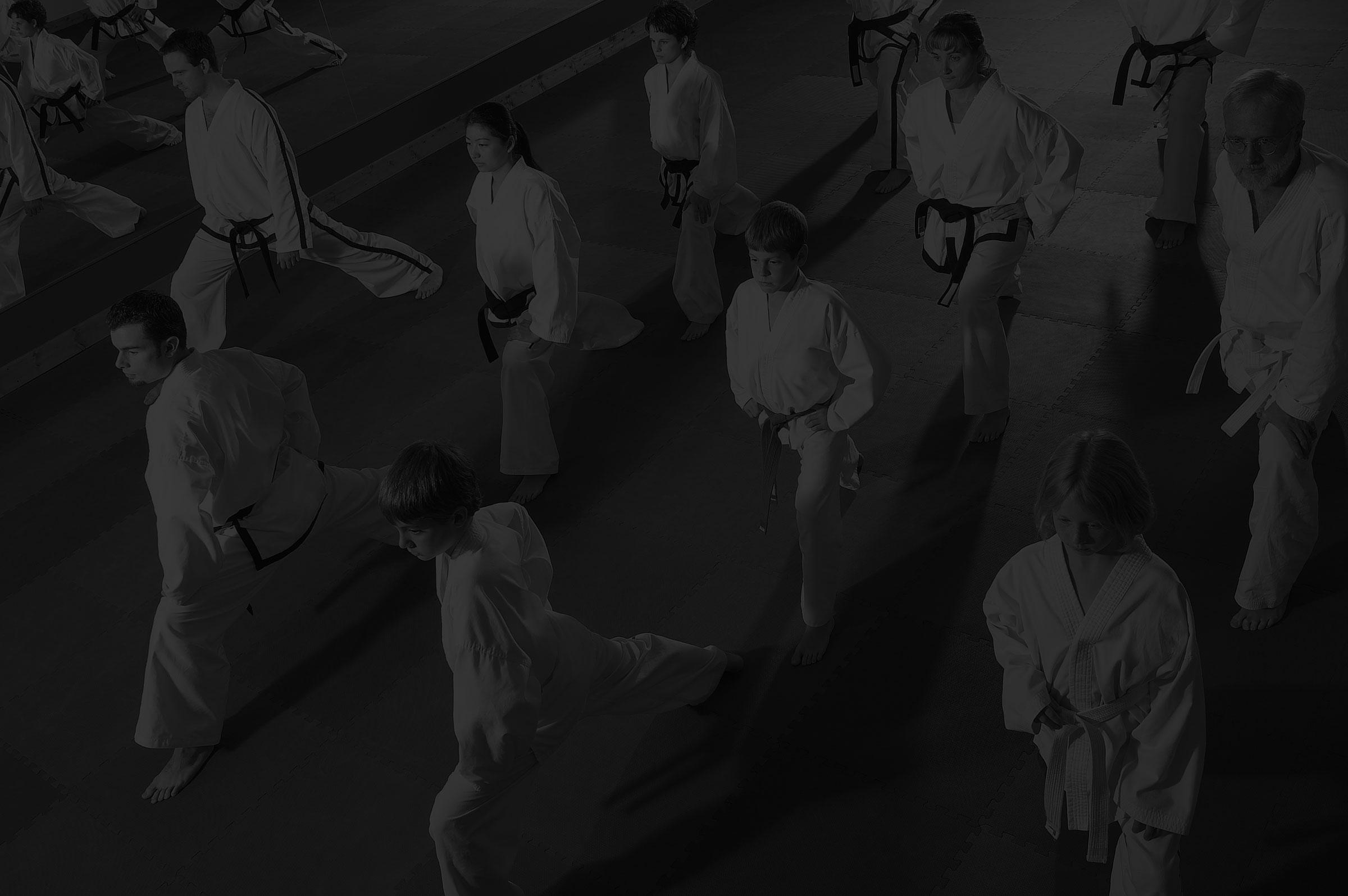 Martial Arts Classroom Background Olympic Taekwondo Academy