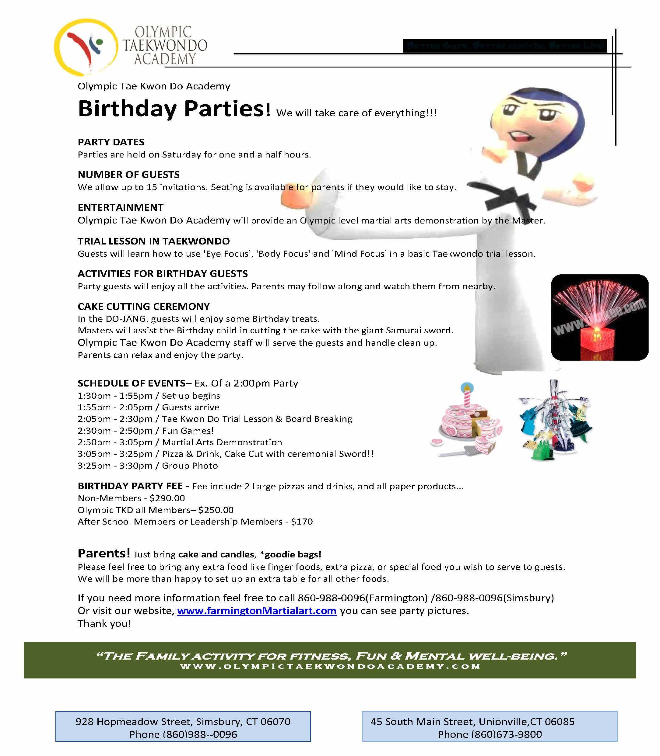 New OTA Birthday info