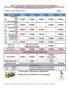 2020 farmington class schedule-page-001